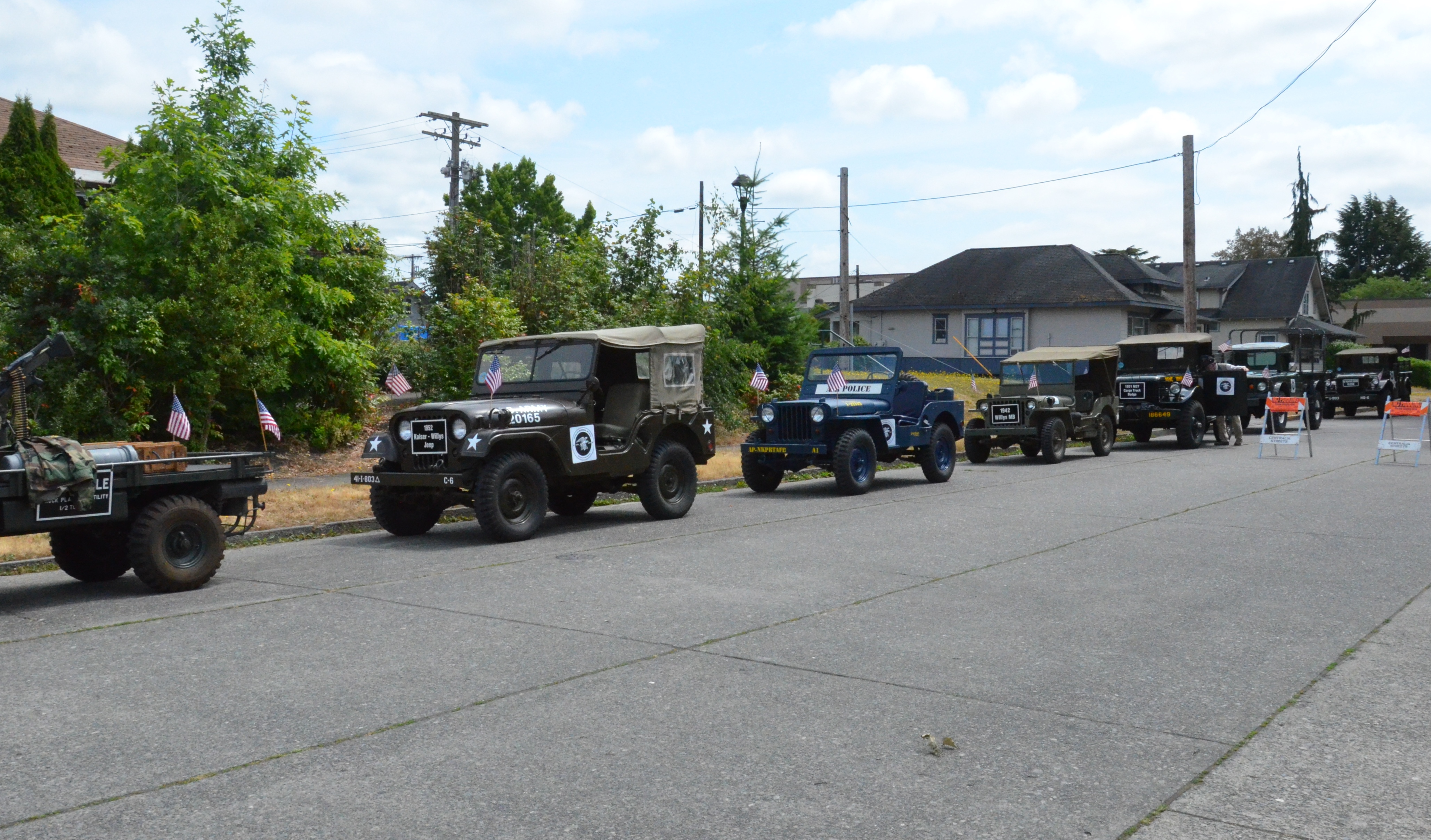 2019 Independence Day Parade Veterans Museum Style