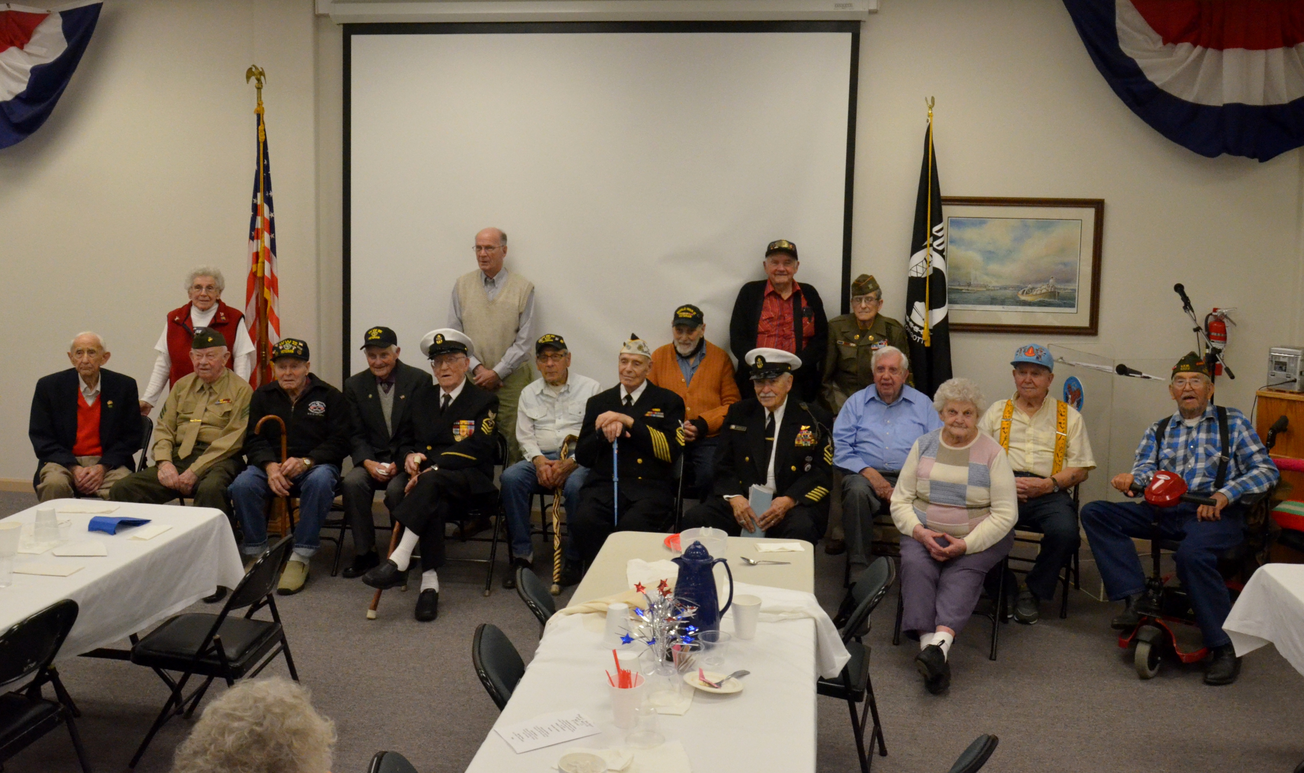 WWII Veterans & Pearl Harbor Survivors Dinner