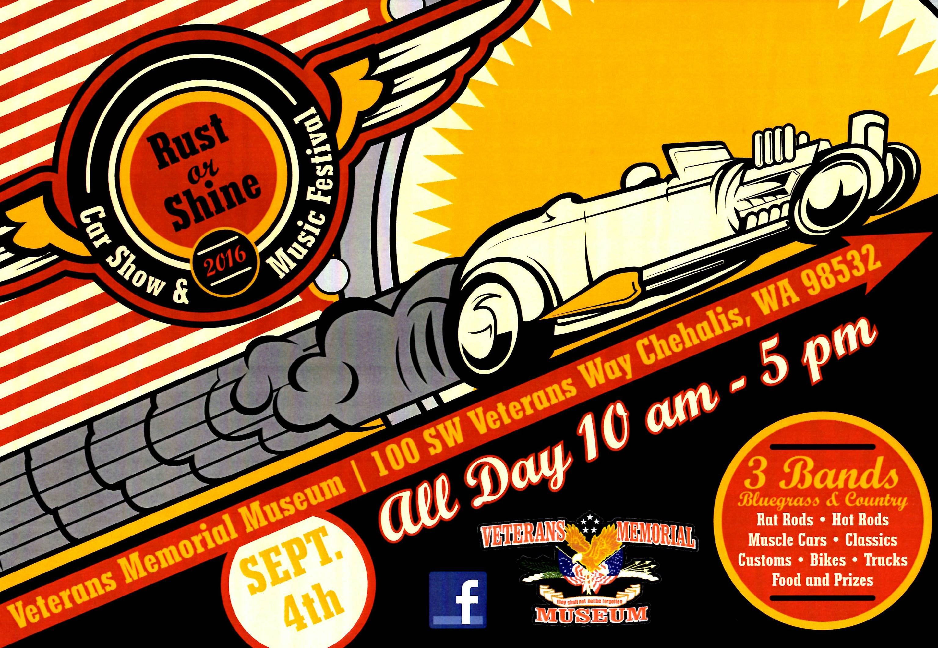 Rust Or Shine Car Show And Music Festival